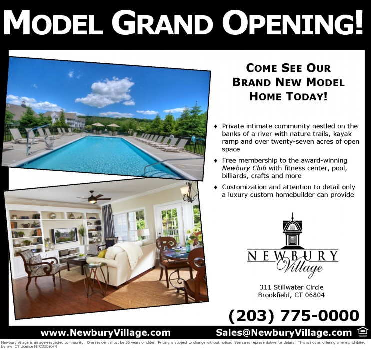 Model Grand Opening at Newbury Village